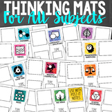Critical Thinking Mats {For all subjects!}