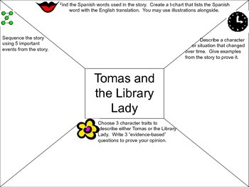 Depth and Complexity - Tomas and the Library Lady by Pat Mora