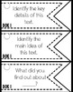 Depth of Knowledge (DOK) 105 Question Stem Cards ELA EDITION