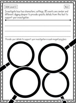 Depth of Knowledge (DOK) Standards-Based Graphic Organizers