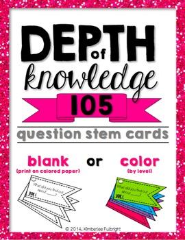 Depth of Knowledge (DOK) SCHOOL LICENSE