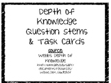 Depth of Knowledge Question Stems