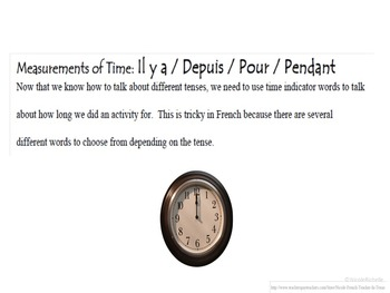 Depuis, Pendant, Il y a, Pour, French Time Phrases: French Quick Lesson
