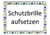 Der Gasbrenner - Regeln für ein sicheres Experimentieren mit dem Brenner.