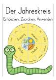 Der Jahreskreis - German / Deutsch: Rund um das Jahr, Grundschule, Beginners