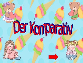 Der Komparativ - The comparative - Making comparisons