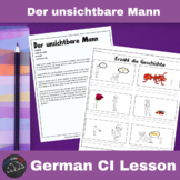 Der unsichtbare Mann - Comprehensible Input Video for German Learners