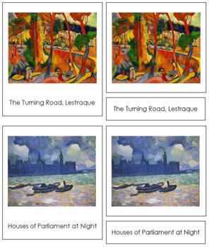 Derain (André) 3-Part Art Cards