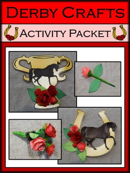 Kentucky: Derby Crafts Activity Packet