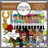 Derby Kids Clipart {A Hughes Design}