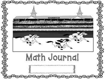 Kentcuky Derby Math Journal
