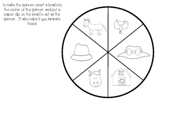 Derby Themed Spin, Graph, and Analyze Activity
