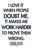 Derek Jeter Inspiration Poster PE
