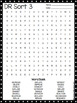 Words Their Way Derivational Relations (Sort 1-25) Word Searches *GROWING*