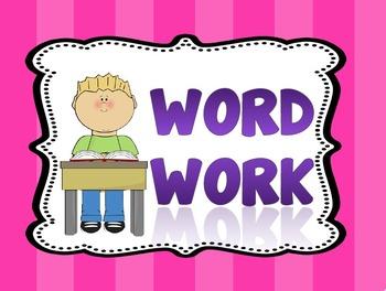 Derivational Relations Word Word Activities Sort 1-50