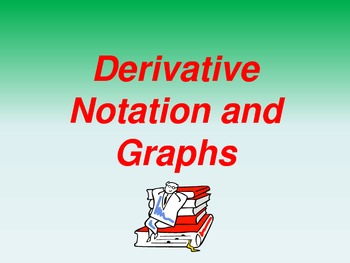 Derivative Notation and Graphs