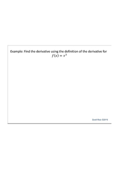 Derivative Notes