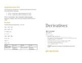 Derivative Review Handout