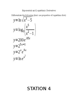 Derivative Review Stations