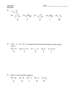 Derivative Rules Practice