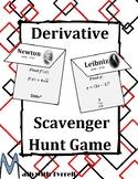 Derivative Scavenger Hunt Game