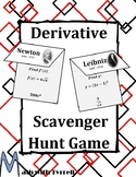 Derivative Scavenger Hunt Game