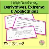 Derivatives Extrema and Applications AP Calculus Exam Prep