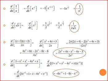 Derivatives (Second, Third, Fourth) PP