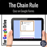Derivatives Using the Chain Rule Google Form