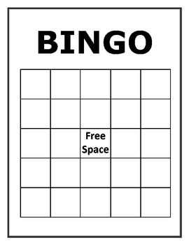 Derivatives and Integrals Bingo