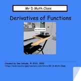 Derivatives of functions