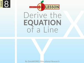 Derive the Equation of a Line