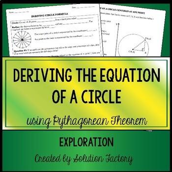 Deriving Circle Formula