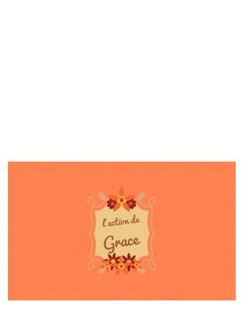 Des Cartes pour Thanksgiving