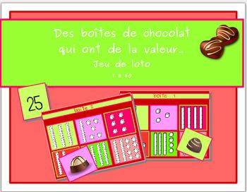 Des boîtes de chocolats qui ont de la valeur...