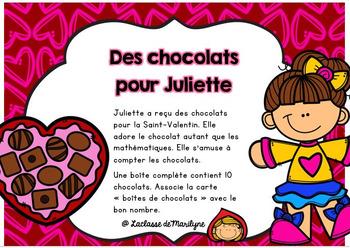 Des chocolats pour Juliette