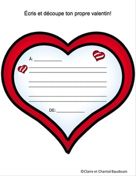 Des mots doux pour la Saint-Valentin