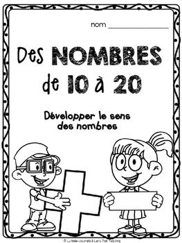 Des nombres de 10 à 20 - Développer le sens des nombres - Develop Number Sense