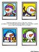 Des phrases en photos - Les bonshommes de neige