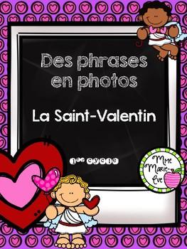 Des phrases en photos - Saint-Valentin