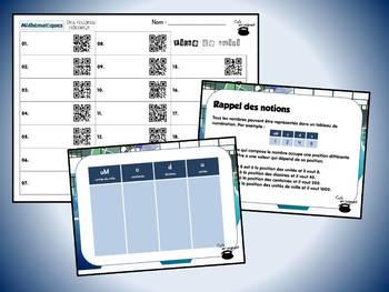 Des records mondiaux, série 1 (cartes à tâches) (Mathématiques) (codes QR)