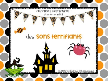 Des sons terrifiants