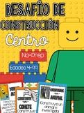 Desafío de construcción / Building Challenges STEM Centers  Spanish Version