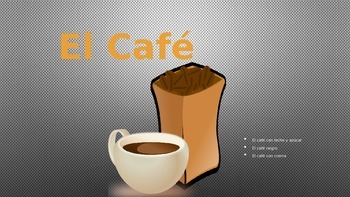 La Comida-Spanish Breakfast Foods-Comprehensive 14 slide Power Point
