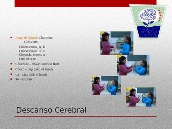 Descansos Cerebrales (Brain Breaks) for Spanish class