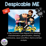 Despicable Me  Using the movie to teach characterization,  analysis and writing