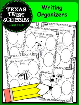Writing Organizer for Beginning Writers {Texas Twist Scribbles}