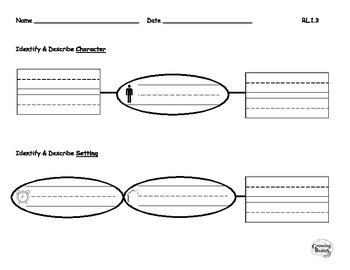 Describe Character & Setting Graphic Organizer