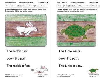 Describe Characters: Lesson 5, Book 21 (Newitt Literature Series)