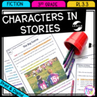Describe Characters in a Story- 3rd Grade RL.3.3